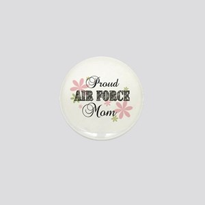 Air Force Mom [fl camo] Mini Button